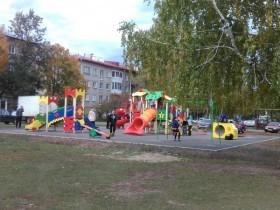 Современный детский игровой комплекс