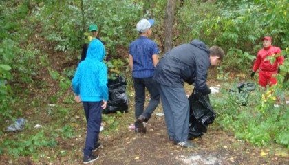 Экологическая акция «Зеленая Россия»